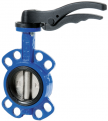 JV100001 WRAS Approved Wafer Butterfly Valve