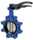 JV100002 - WRAS Approved Lugged & Tapped Butterfly Valve
