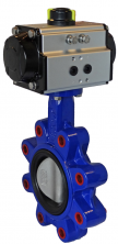 JV240004 -  Pneumatic Actuated Butterfly Valve