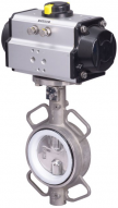 JV240006 - Pneumatically Actuated Butterfly Valve