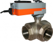 JV5999E-SR - Spring Return Electrically Actuated Ball Valve