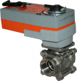 JV6005E-SR - Spring Return Electrically Actuated Ball Valve