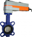 JV9411E-SR - Spring Return Electrically Actuated Butterfly Valve