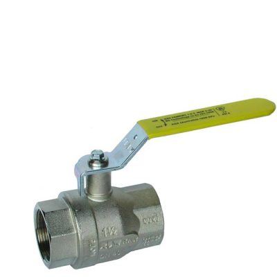 BV90 - Brass Nickel Plated Ball Valve