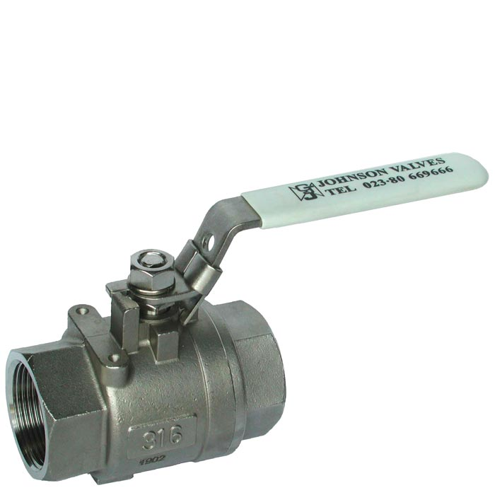BV902 - Stainless Steel Two Piece Ball Valve