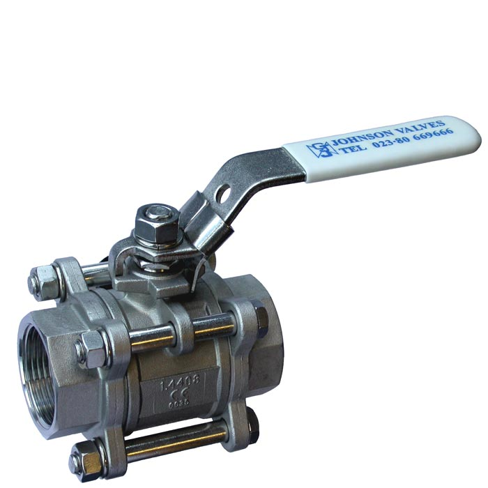 BV903 - Stainless Steel Three Piece Ball Valve