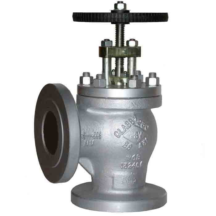 3//4 In. Class 300 Angle Globe Valve